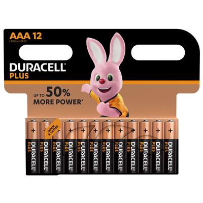 Duracell 12er MN 2400 Plus Micro AAA